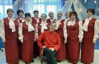 Участие в фестивале хоров ветеранов