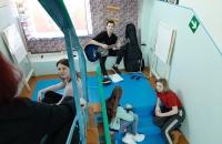 Встреча молодежи в креативном пространстве «Лестница»