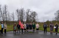 Торжественный митинг у Обелиска в п. Лом