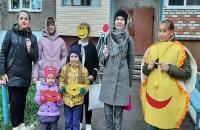 Активисты провели акцию «Мир без жестокости к детям»
