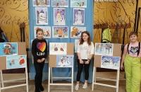 Передвижная выставка рисунков «Волшебница зима»
