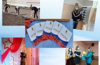 Вручение волонтерских книжек активистам поселка