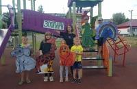 Ребята посетили занимательную арт-фауну «Зоопарк»